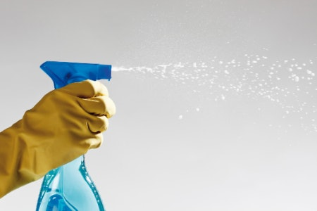 Spray the Dirt Away With a Chemical Cleaner