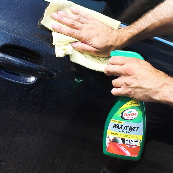 Grab the Spray Bottle for the Quickest Fix
