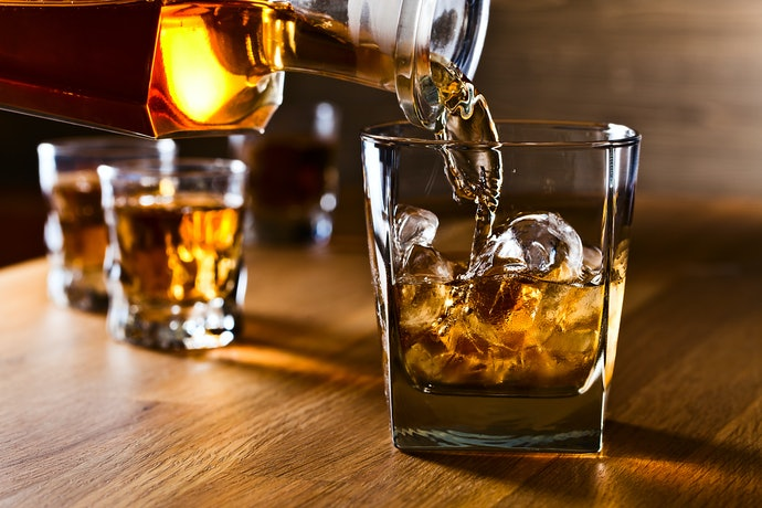 A Whisky Tumbler Is Ideal for Scotch on the Rocks or Short Cocktails
