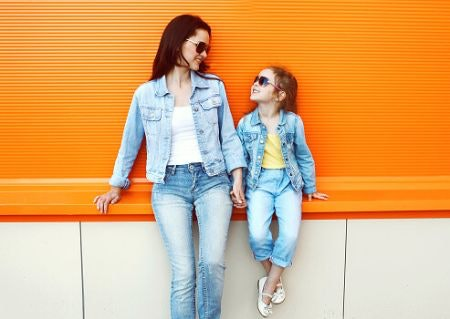 High-Waisted Mom Jeans Flatter Most Body Shapes