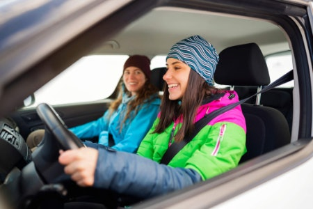A Heated Cushion Will Keep You Warm on Chilly Journeys