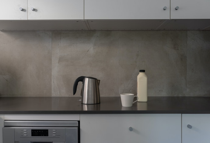 Tile Stickers Provide a Low Commitment Way to Spruce up Your Kitchen