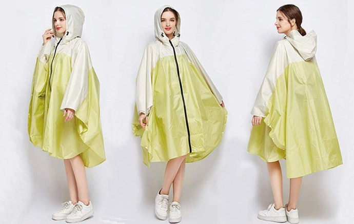 Ponchos Fold Down Small and Will Protect You in a Pinch