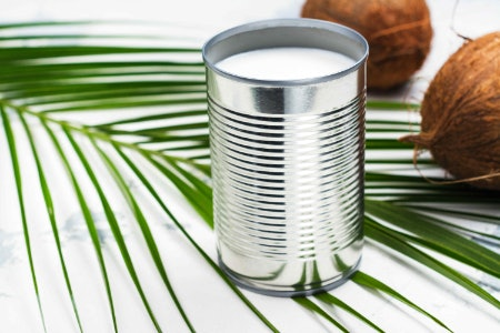 Using Cans of Coconut Milk or Cream Is Convenient, but May Result in Wastage