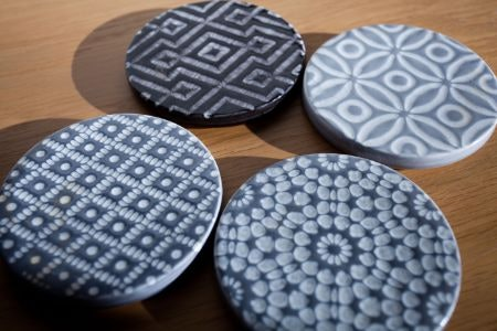 Ceramic and Slate Are Great for Gardens
