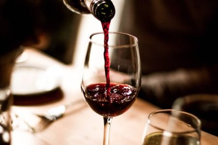 Red Wine Is Bold and Full-Bodied