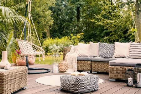 Canvas Cushions Can Be Used Outside