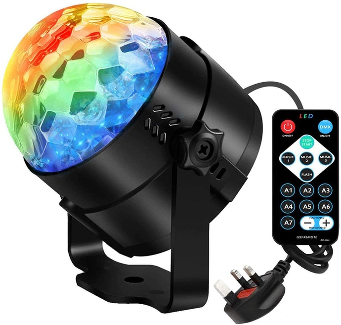A Remote Control Helps You Manage Your Lighting as You Dance and Celebrate