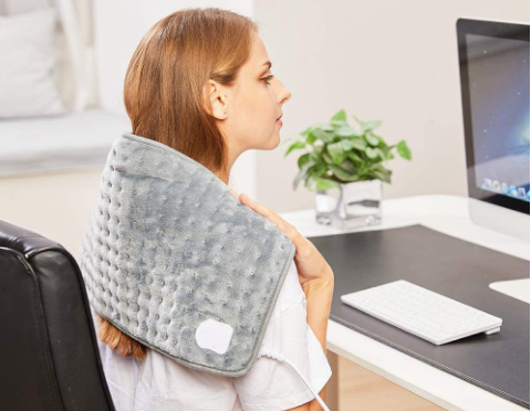 Electric Heating Pads Give Continuous Heat but Aren't as Portable