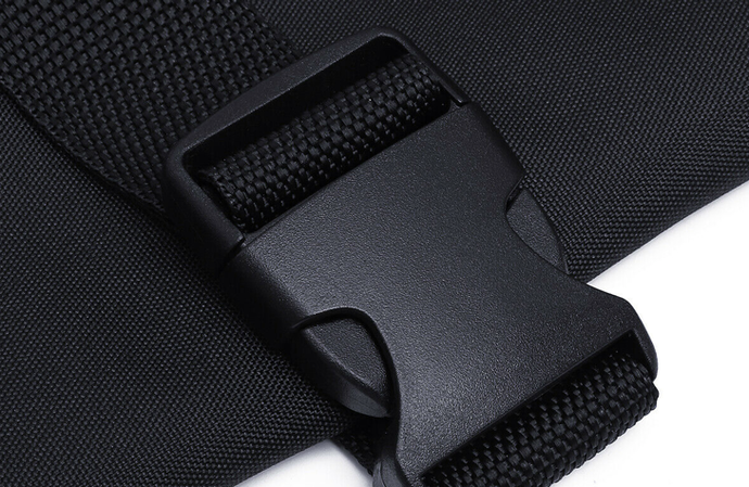 Buckles and Straps Are Quick and Easy to Secure