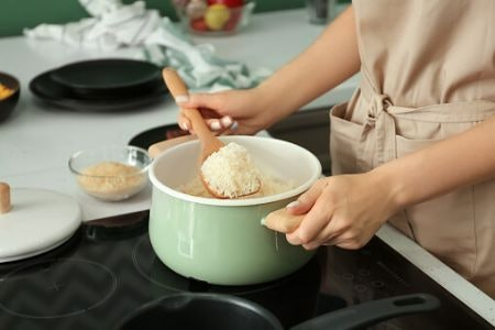 Quick-Cook Rice Saves on Time Spent in the Kitchen