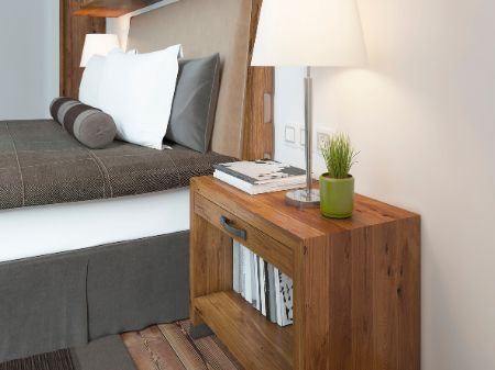 Shelves Give a Less Solid Feel and Allow Easy Access to Items