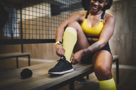 Go for Socks With the Optimum Pressure Level for Running