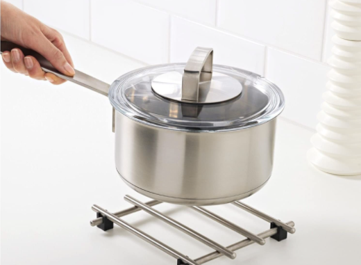 Stainless Steel Trivets Are Commonly Chrome Plated, Adding to Their Durability
