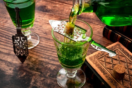 Distilling Is the Traditional Method of Making Absinthe