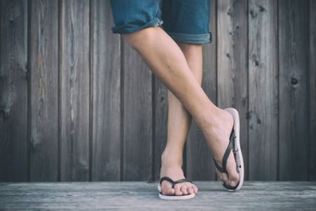 Fitting and Caring for Your Flip Flops