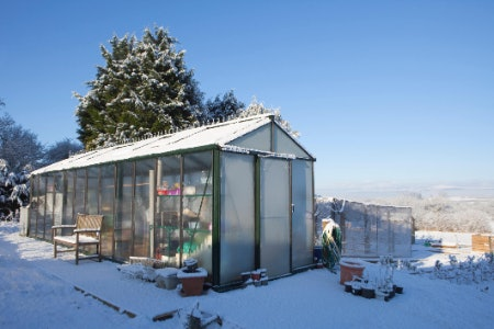 Insulation Is Important if You're Planning on Growing Through Cold British Winters