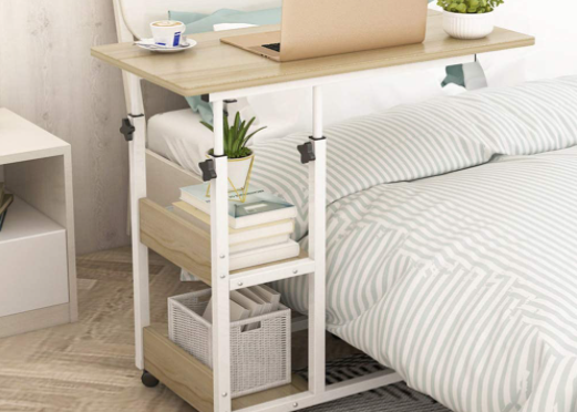 Consider Storage Options, Especially if You're on Long-Term Bed Rest