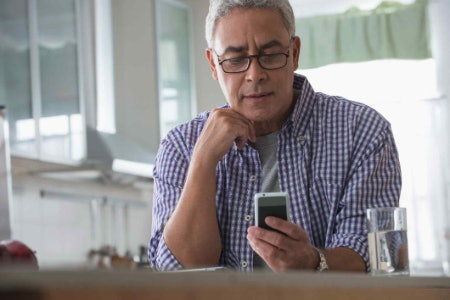Some Seniors Are More Comfortable With a Basic Phone