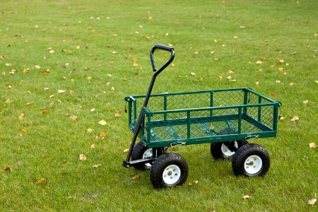 Garden Carts Tend to Have Higher Weight Limits