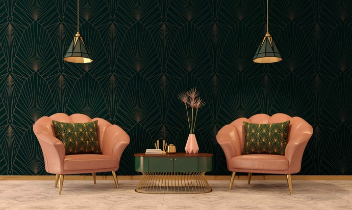 Art Deco Creates a Minimalistic Yet Creative Look