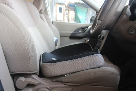 A Cushion You Sit on Can Ease Coccyx Pain and Give Short Drivers Height