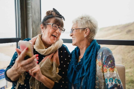 Smartphones Can Help Tech Savvy Seniors Stay Connected