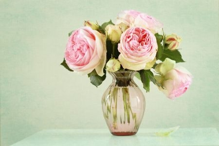 A Classic Flared Vase Makes a Great Centrepiece