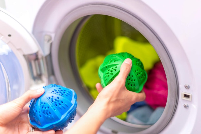 Try an Eco-Friendly Laundry Ball or Egg to Skip Chemicals Completely