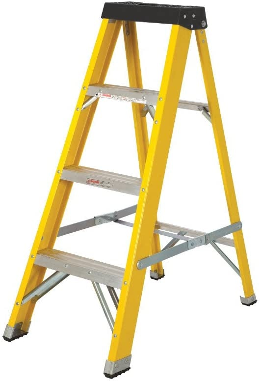 Front Step Ladders Are for Single Person Use Only