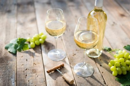 White Wine Is Light and Crisp