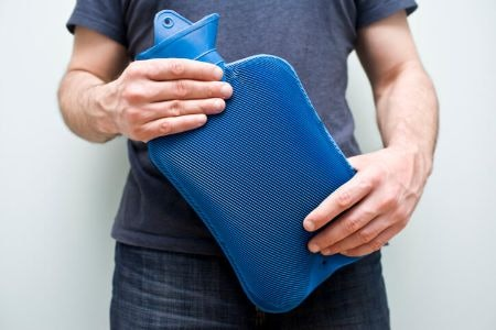 Large Hot Water Bottles Warm a Greater Surface Area