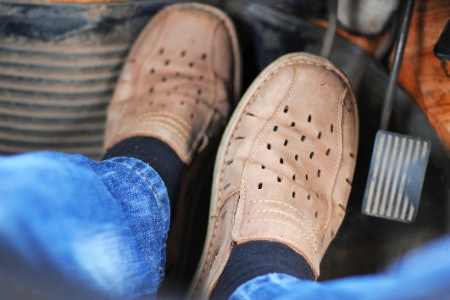 The Soles of Driving Shoes Are Your Contact Point With the Pedals