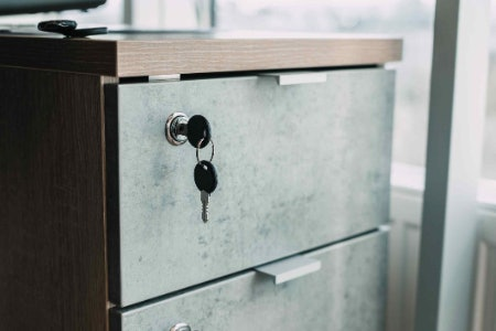 Pick a Cabinet With a Lock if You're Storing Sensitive Documents