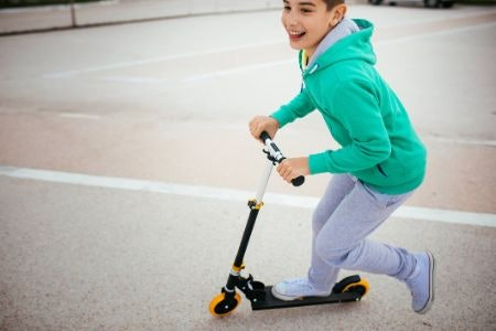 Two-Wheeled Scooters Are a Great Mode of Transport for a Wide Range of Ages