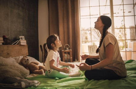 Meditation and Mindfulness Help Your Child to Wind Down