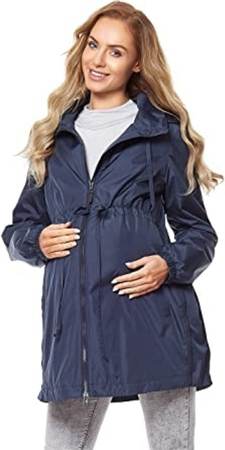 Be Mammy Women's Maternity Drawstring Jacket 1
