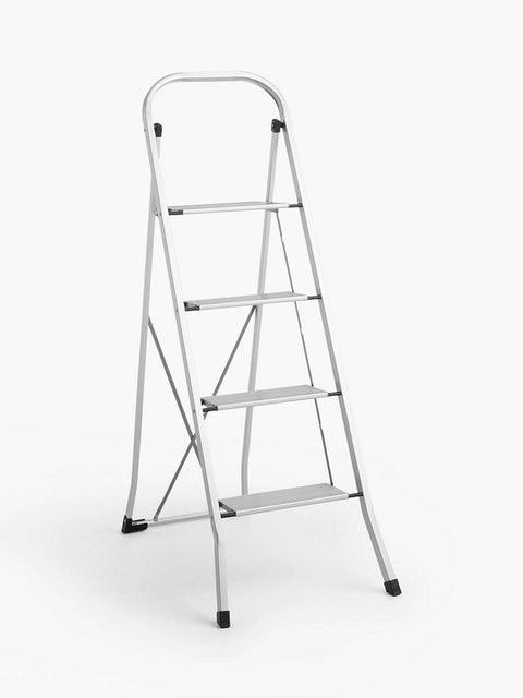 John Lewis & Partners Aluminium Folding Step Ladder 1