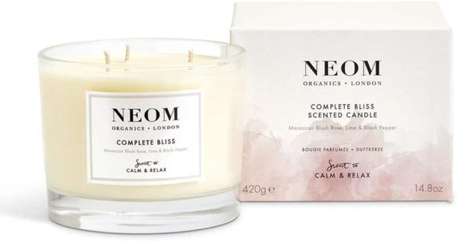 Neom Organics London Complete Bliss 3 Wick Scented Candle 1