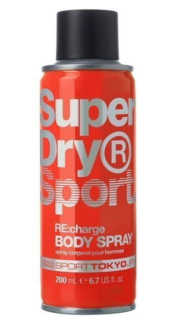 Superdry Sport RE:charge Body Spray  1