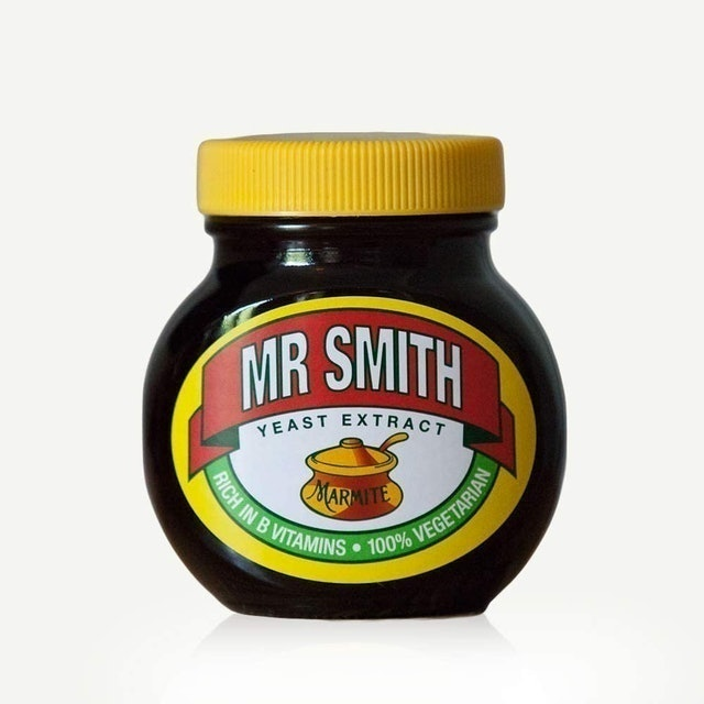 Personalised Sports & Photo Gifts Official Personalised Marmite Jar 1