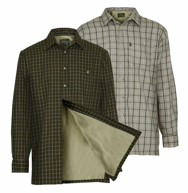 Flannel Shirts Champion Milton Fleece-Lined Shirt 1