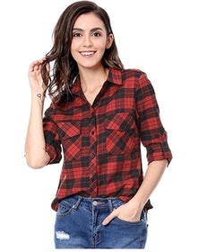 Top 10 Best Flannel Shirts for Women in the UK 2021 (Missguided and More) 1