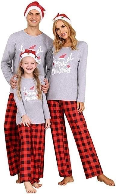 Akalnny Family Matching Christmas Pyjamas Set 1