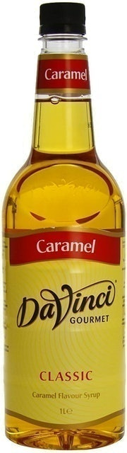 DaVinci Classic Gourmet Caramel Coffee Syrup 1