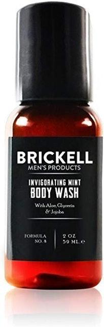 Brickell Invigorating Mint Body Wash 1