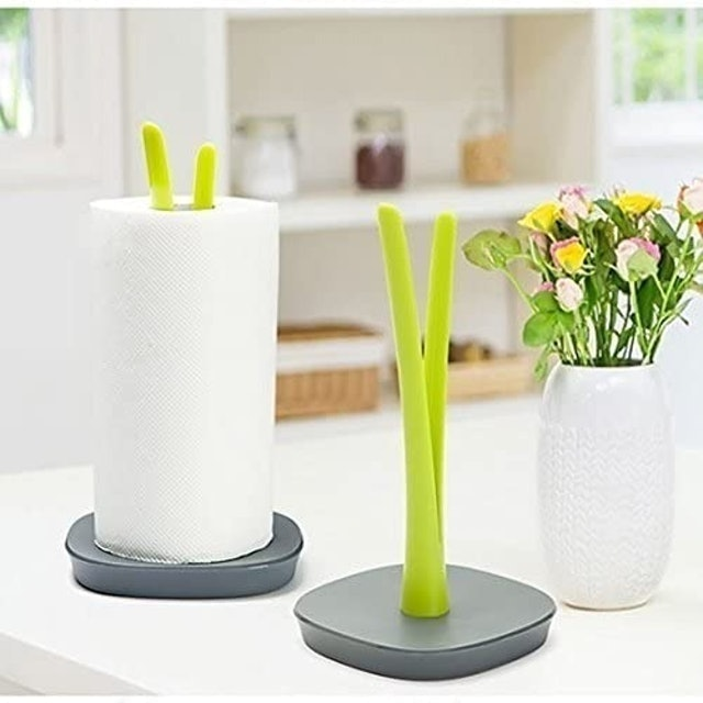 Suparee  Standing Paper Towel Holder with Weighted Base 1