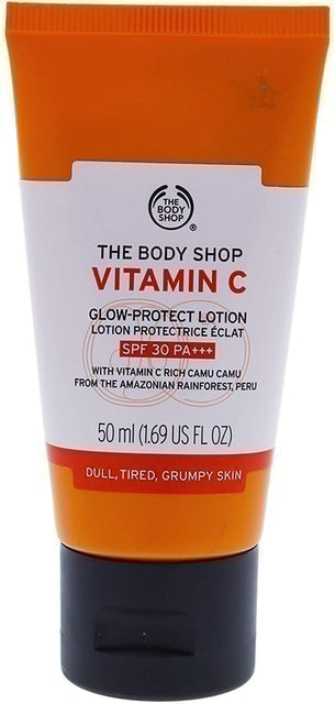 The Body Shop Vitamin C Glow-Protect Lotion SPF30  1