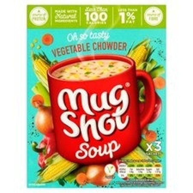 Mug Shot Vegetable Chowder Soup 1