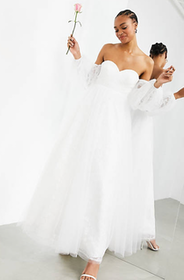 Top 10 Best Wedding Dresses Under £500 in the UK 2021 (ASOS, Monsoon and More) 3